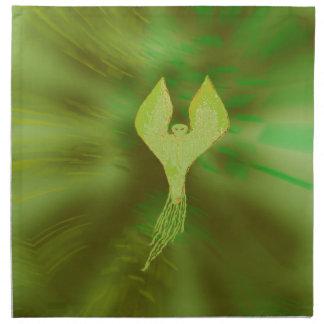 El espíritu necrófago verde servilletas