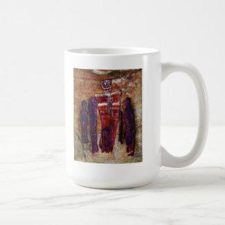El espíritu santo y los asistentes taza de café