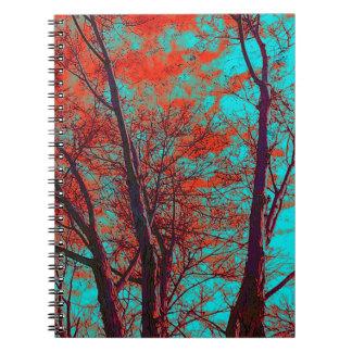 El espiritual ramifica cuaderno