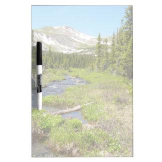 El esplendor de Colorado escénico seca al tablero  Pizarras Blancas De Calidad
