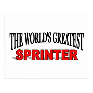 El esprinter más grande del mundo postales