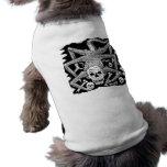El esqueleto de la araña camisetas mascota