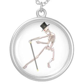 El esqueleto del baile colgante redondo