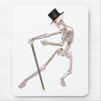 El esqueleto del baile alfombrillas de ratones