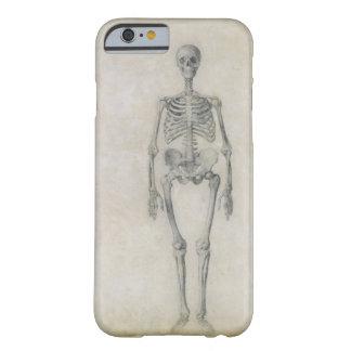 El esqueleto humano, visión anterior, desde la funda barely there iPhone 6