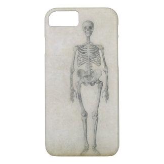 El esqueleto humano, visión anterior, desde la funda iPhone 7
