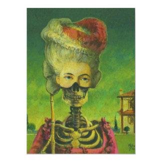 El esqueleto invita para todas las ocasiones anuncio