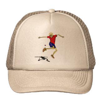 el esqueleto se divierte el hackysack gorra