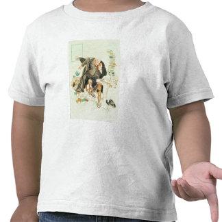 El esquema del dibujo animado satírico de Sanity Camiseta