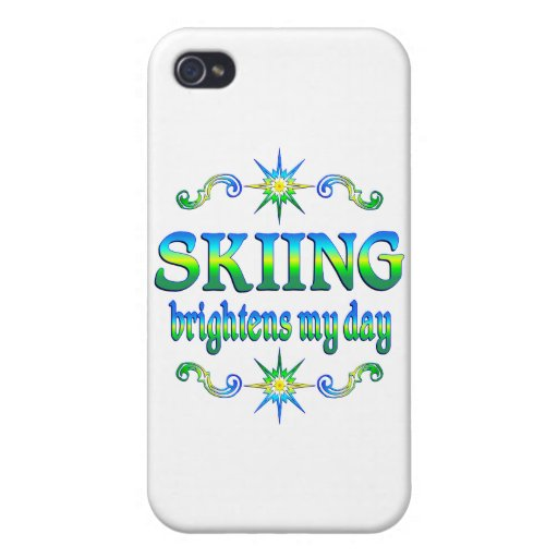 El esquí aclara iPhone 4 carcasas