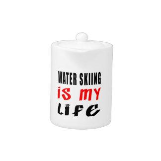 El esquí acuático es mi vida
