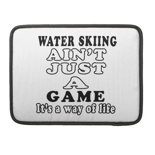 El esquí acuático no es apenas un juego que es una funda macbook pro