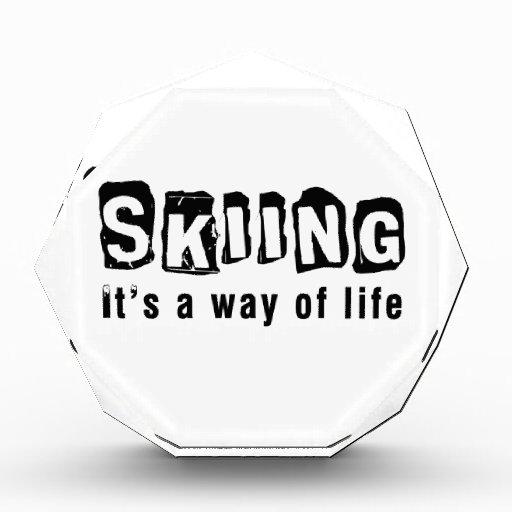 El esquí él es una manera de vida