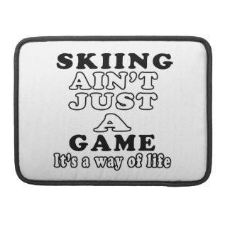 El esquí no es apenas un juego que es una manera d fundas macbook pro