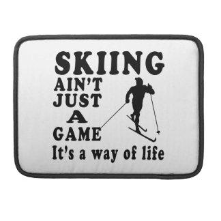 El esquí no es apenas un juego que es una manera d fundas para macbook pro