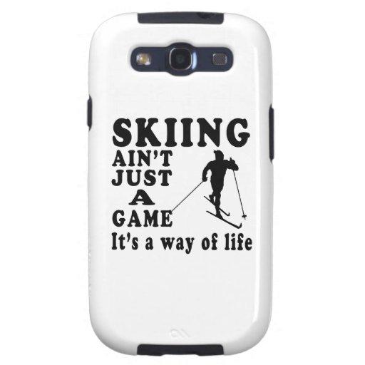 El esquí no es apenas un juego que es una manera galaxy s3 cobertura