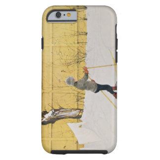 El esquiador, c.1909 funda para iPhone 6 tough