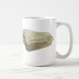 El esquisto sucede taza básica blanca