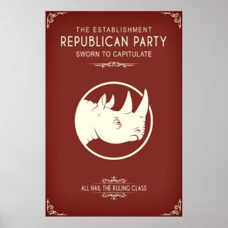 El establecimiento republicano póster