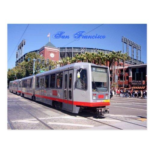 El estadio de béisbol en San Francisco Postal