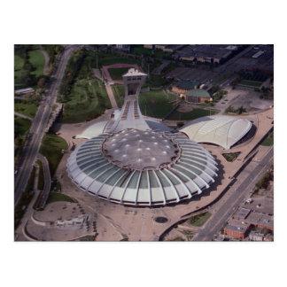 El estadio Olímpico Montreal Quebec Canadá Tarjeta Postal