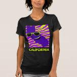 El estado de la camiseta de las mujeres de Califor