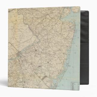 """El estado de New Jersey, 1877 Carpeta 1 1/2"""""""