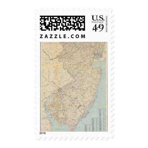 El estado de New Jersey, 1877 Envio