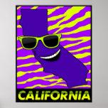 El estado del poster de California