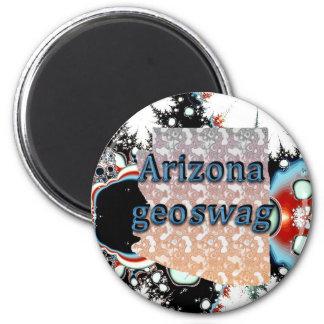 El estado Geocaching de Arizona suministra el imán