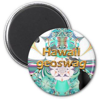 El estado Geocaching de Hawaii suministra el imán