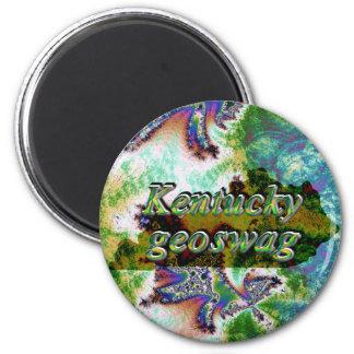 El estado Geocaching de Kentucky suministra el Imán Redondo 5 Cm