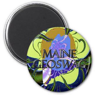 El estado Geocaching de Maine suministra el imán G