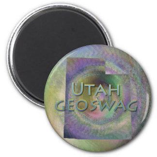 El estado Geocaching de Utah suministra el imán Ge