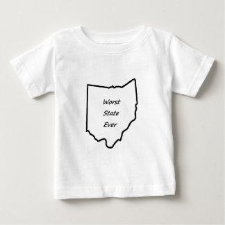 El estado peor de Ohio nunca Playera