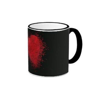 El estallar con amor taza de café