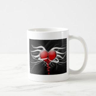 ¡El estallar con amor! Taza de café