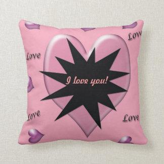 El estallar con la almohada de tiro del amor