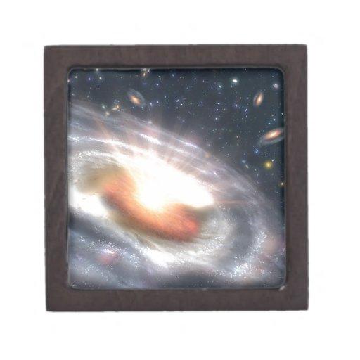 El estallar con las estrellas y los calabozos caja de regalo de calidad