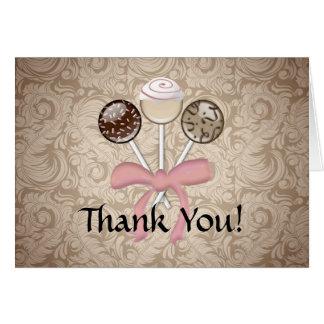 El estallido elegante de la torta del damasco del tarjeta de felicitación