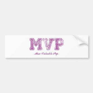 El estallido más valioso - MVP Pegatina Para Auto