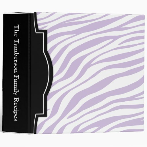 "El estampado de zebra púrpura personalizó 2"" carpe"