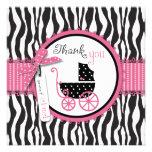El estampado de zebra y el carro de bebé le agrade comunicado