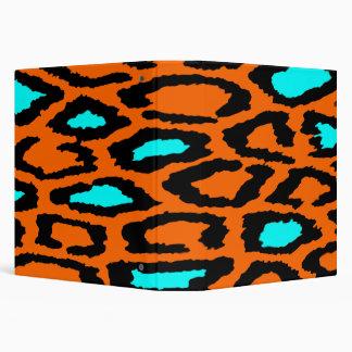 El estampado leopardo anaranjado con el trullo des