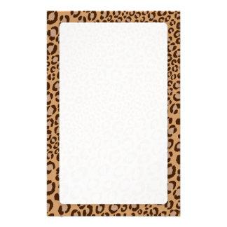 ¡El estampado leopardo/naturales/añade color de fo Papeleria De Diseño