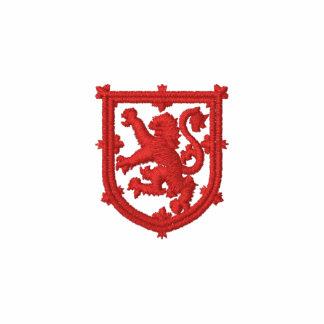 El estándar real de Escocia bordó el polo