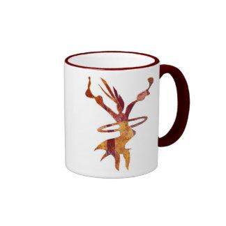 El estar en órbita tazas de café
