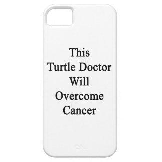 El este doctor Will Overcome Cancer de la tortuga iPhone 5 Case-Mate Cobertura