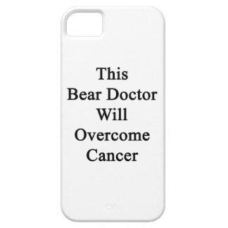 El este doctor Will Overcome Cancer del oso iPhone 5 Case-Mate Cobertura