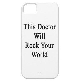 El este doctor Will Rock Your World iPhone 5 Fundas